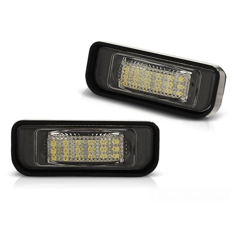 Eclairage plaque pour mercedes w220 09.98-05.05 led canbus