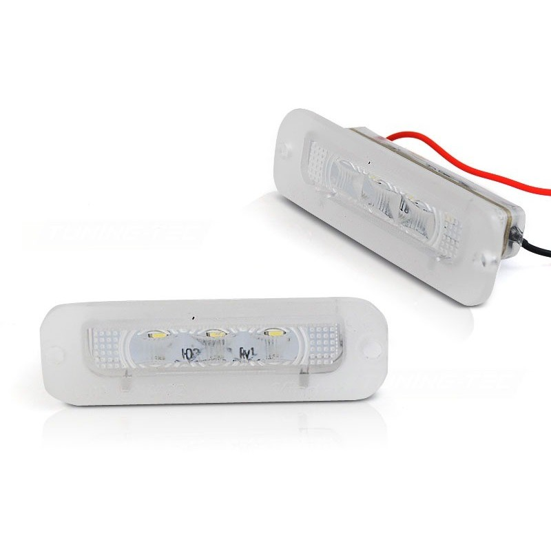 Eclairage plaque pour mercedes w463 90-12 led