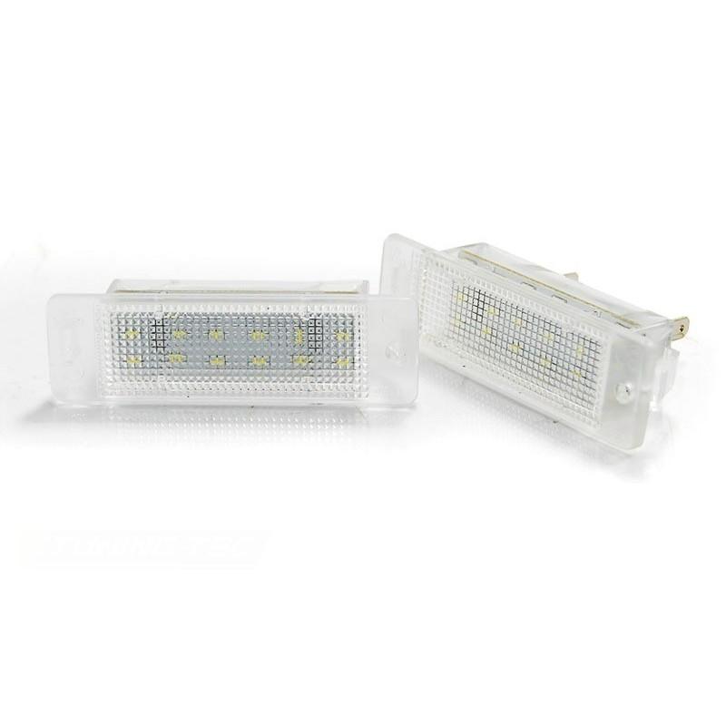Eclairage plaque pour opel astra f 09.91-08.97/calibra 08.90-06.97 led