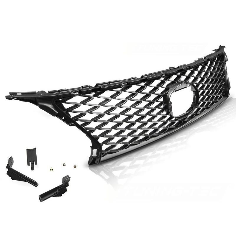 Calandre pour lexus rx350 12-15 f glossy dark gris sport style