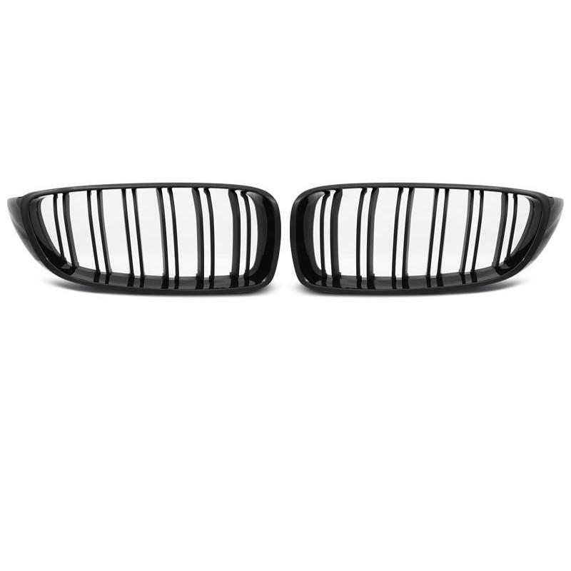 Calandre pour bmw f32,f33,f36 13- m4 look frame noir brillant