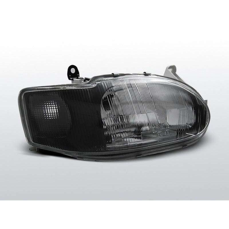Feux phares avant ford escort mk7 noir 02,95 à 00