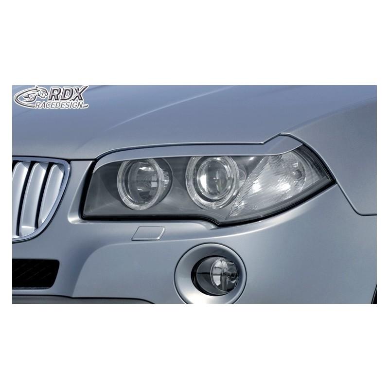 Paupieres de phares BMW X3 E83 2003-2010