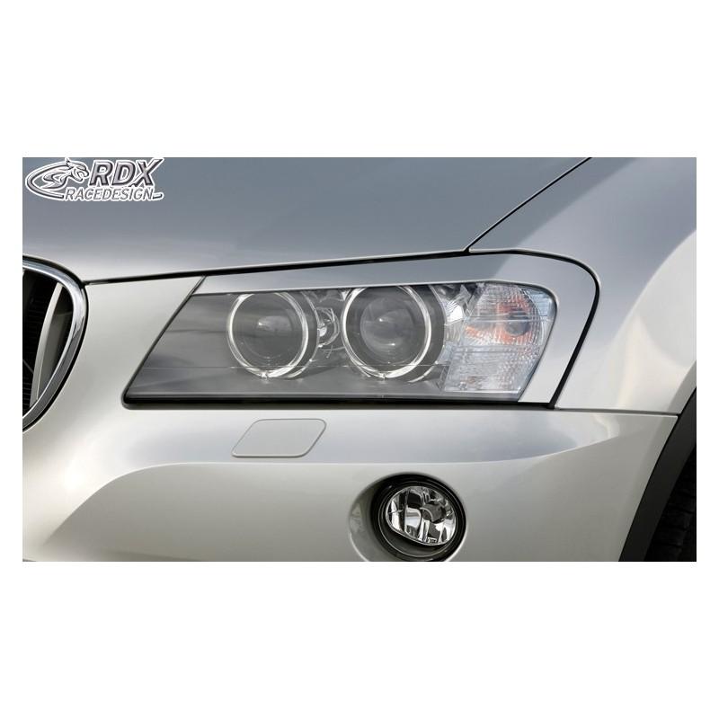 Paupieres de phares BMW X3 F25 2010-2014