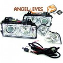 Phares angel eyes chrome Bmw E36 90-99 Berline/Touring