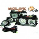 Phares angel eyes noir Bmw E36 90-99 Berline/Touring