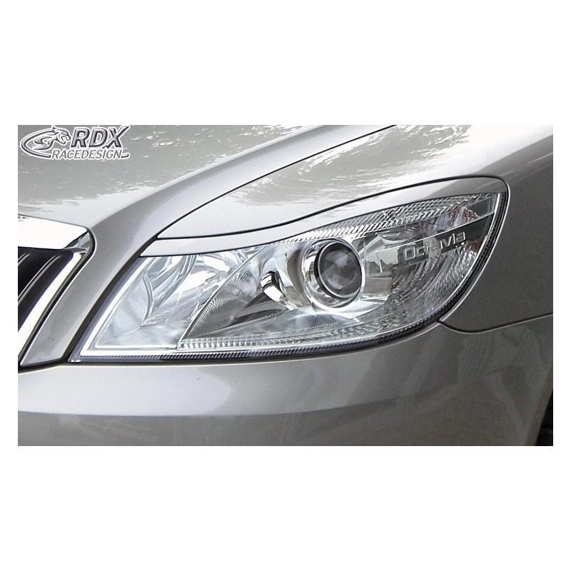 Paupieres de phares Škoda Octavia 2 / 1Z Facelift 2008+