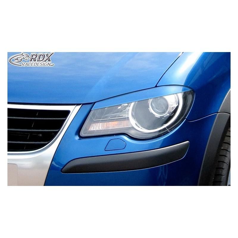 Paupieres de phares VW Touran 1T Facelift 2006+