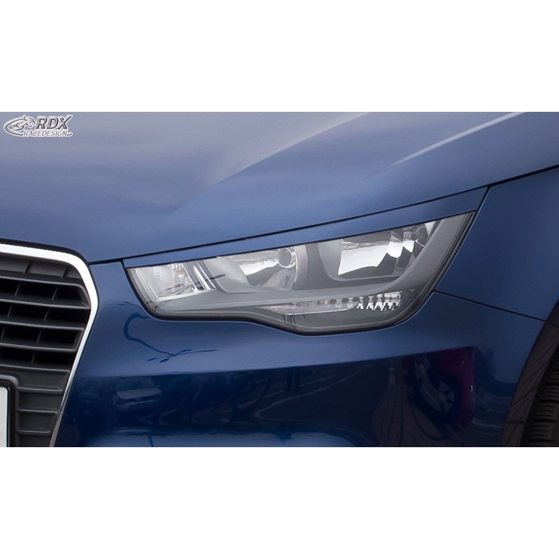 Paupieres de phares Audi A1 8X & A1 Sportback 8XA (-01/2015)