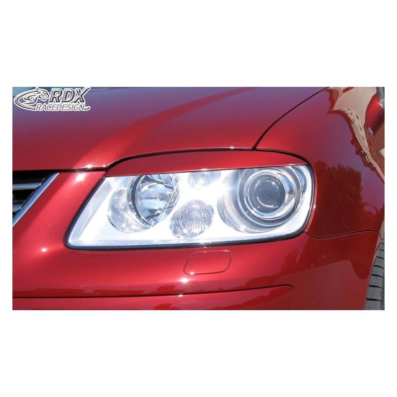 Paupieres de phares VW Touran 1T -2006 / -2010 Caddy