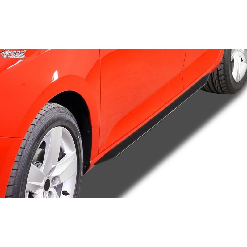 """Bas de caisse Škoda Fabia 2 / 5J (-2010 & Facelift 2010+) """"Slim"""""""