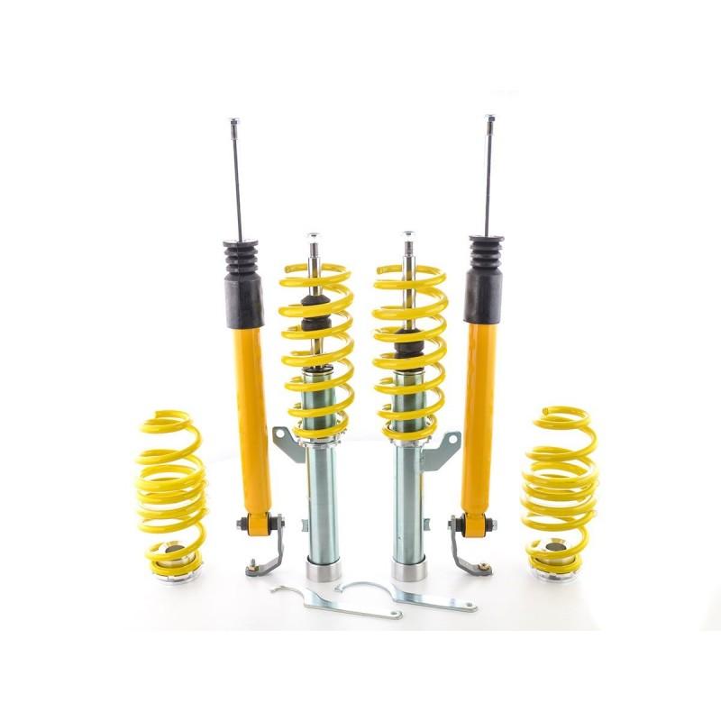 FK Combinés filetés suspension sport Seat Leon 5F année à  partir de 2012 avec 50 mm jambe de force