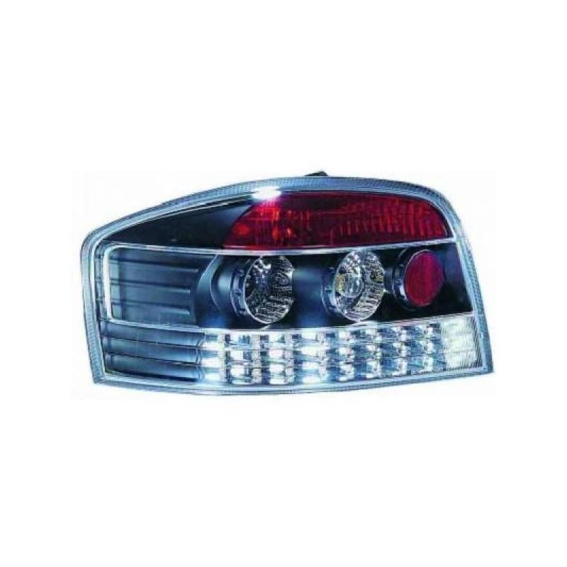 Feux arrières LED noir Audi A3 3-portes apres 2003