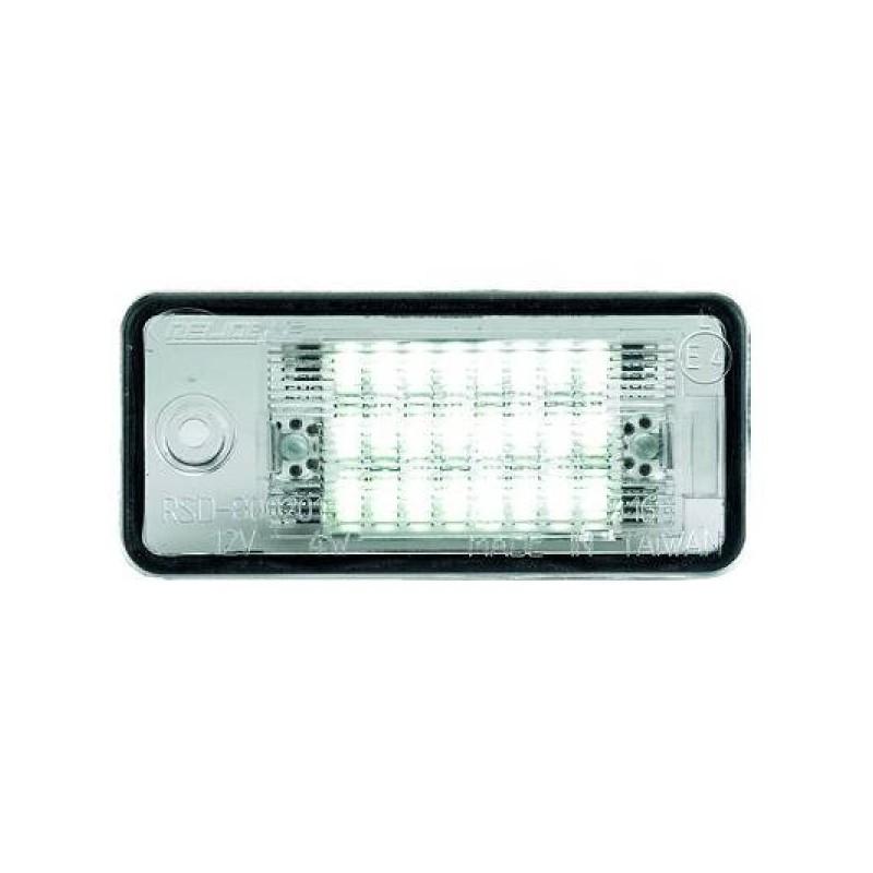 Eclairage plaque d'immatriculation LED Audi A3 03-08