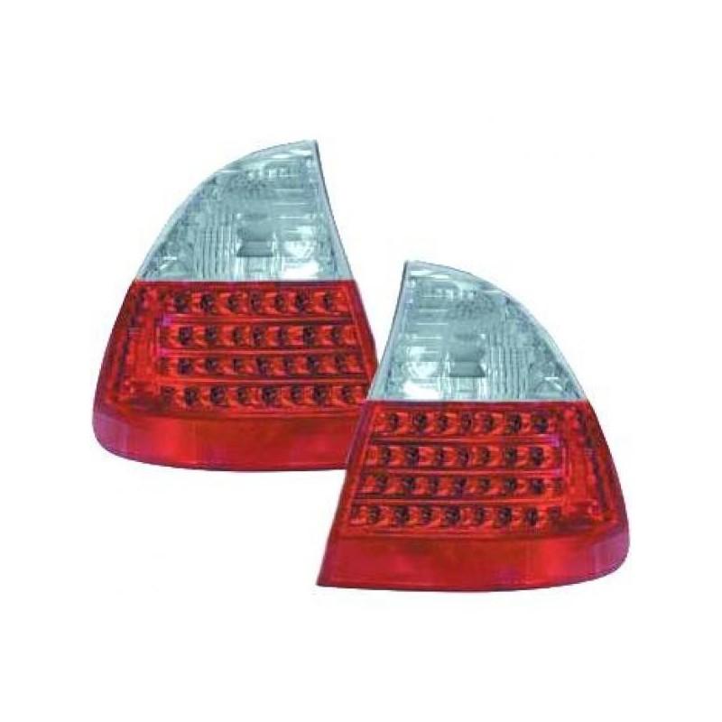 Feux arrières LED rouge/blanc BMW E46 AVANT 01-05 pour AVANT