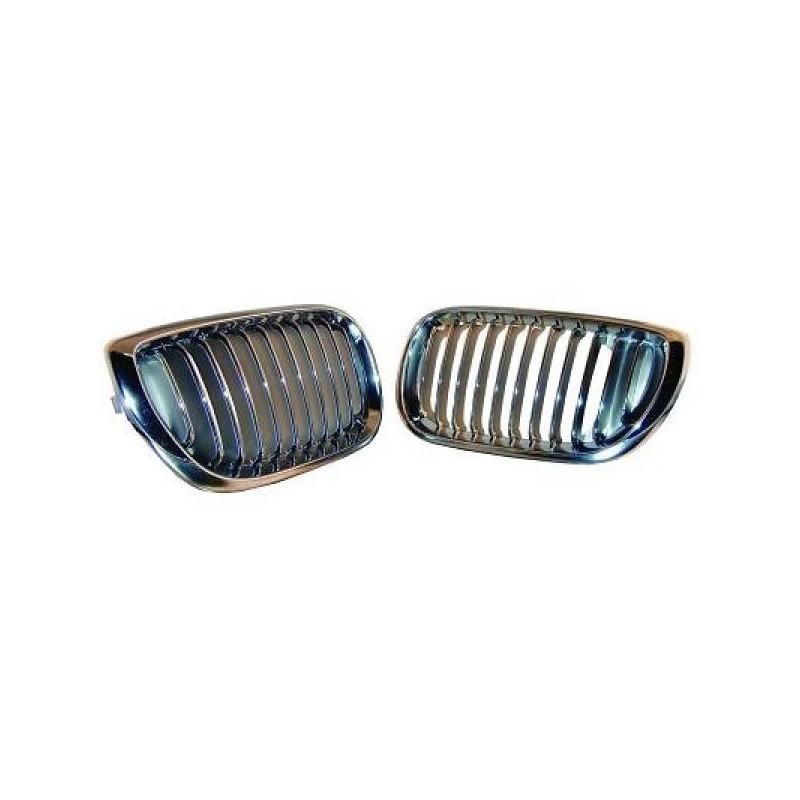 grilles Calandre D/G chrome BMW E46 4-portes 01-05