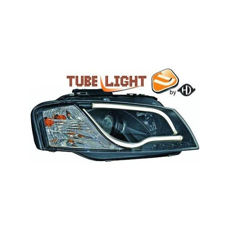 Phares LTI Light Tube Inside Audi A3 03-08 cristal/noir