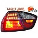 Feux arrière Bmw E90 05-08 BERLINE cristal/rouge-chrome-fumé Clignotant LED