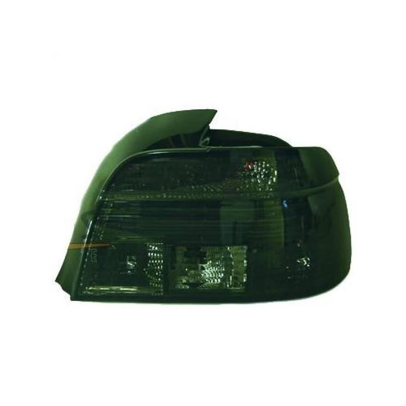Feux arrières fumé Bmw E39 4-portes 95-00 cristal/noir